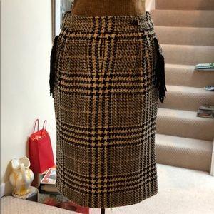 Plaid MaxMara skirt